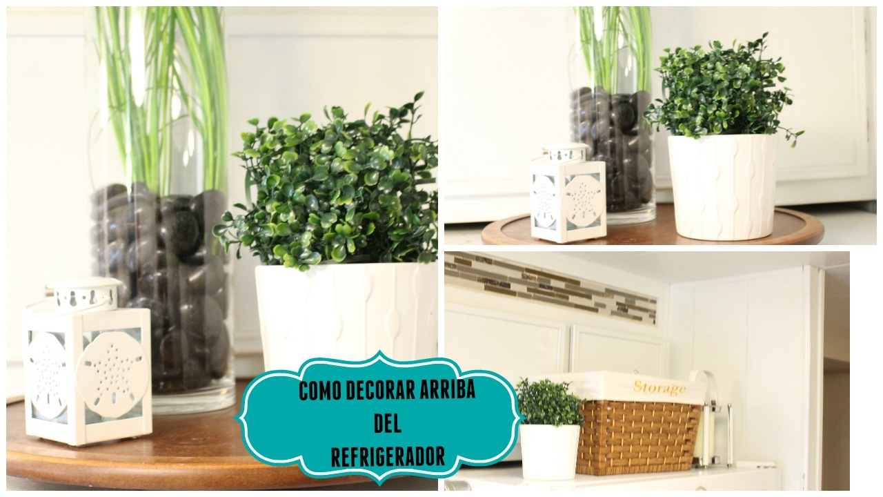 Ideas para decorar tu refrigerador youtube - Como decorar tu salon ...