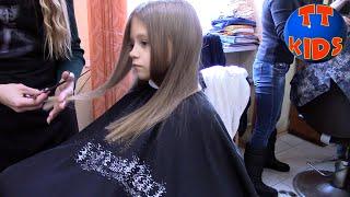 ВЛОГ Едем в Салон Красоты - Новая Стрижка?! День красоты для Ярославы! Видео для детей