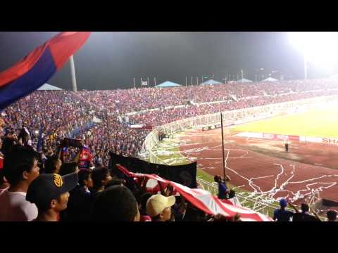 JDT, B.O.S and the JOHORian Fans anthem songs!!! awsome!!!