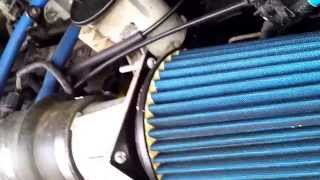 Ford Expedition engine sound with after market air intake