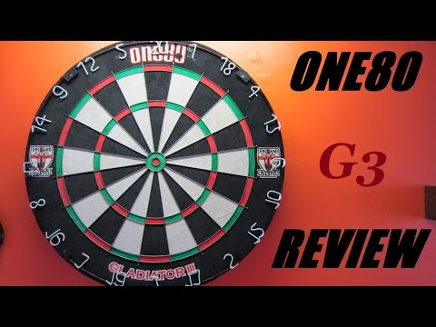 🎥  Review #15 - One80 Gladiator 3 Dart Board 🎯
