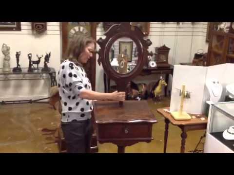 Antique Furniture The Best Victorian Shaving Mirror Stand