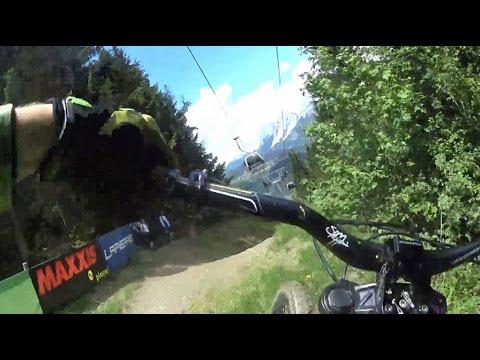 Worldcup Downhill Track Bikepark Planai Schladming 2016