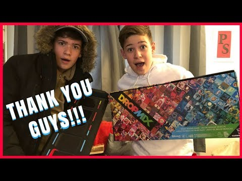 UNBOXING THE NEW HASBRO TOY AND OPENING BIRTHDAY GIFTS FROM FANS!! || Max & Harvey