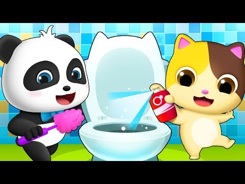 Clean Up Song | Nursery Rhymes | Play Safe Song | Children Learning | Color Song | BabyBus