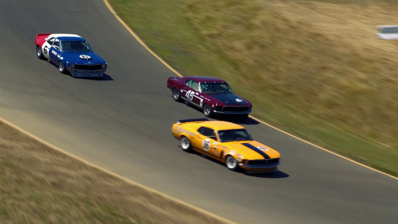 Replay - Sonoma Speed Festival 2019 - Race Group 6 (1966-72 Historic Trans Am)