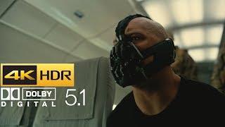 The Dark Knight Rises - Plane Hijack (HDR - 4K - 5.1)