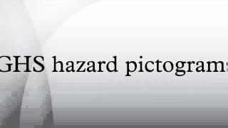 GHS hazard pictograms