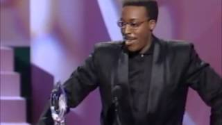 Arsenio Hall wins Favorite Late Night Talk Show Host at People's Choice Awards 1990