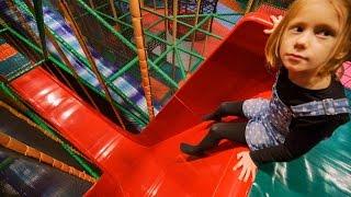 Fun at Busfabriken Indoor Play Center (playground family fun for kids) #1 thumbnail