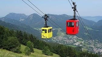 Zwölferhornbahn in Sankt Gilgen