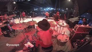 Steven Jam - Lagu Santai (Drum Cam) | Live at Suryanation Motorland, Sorong, Papua 2019.