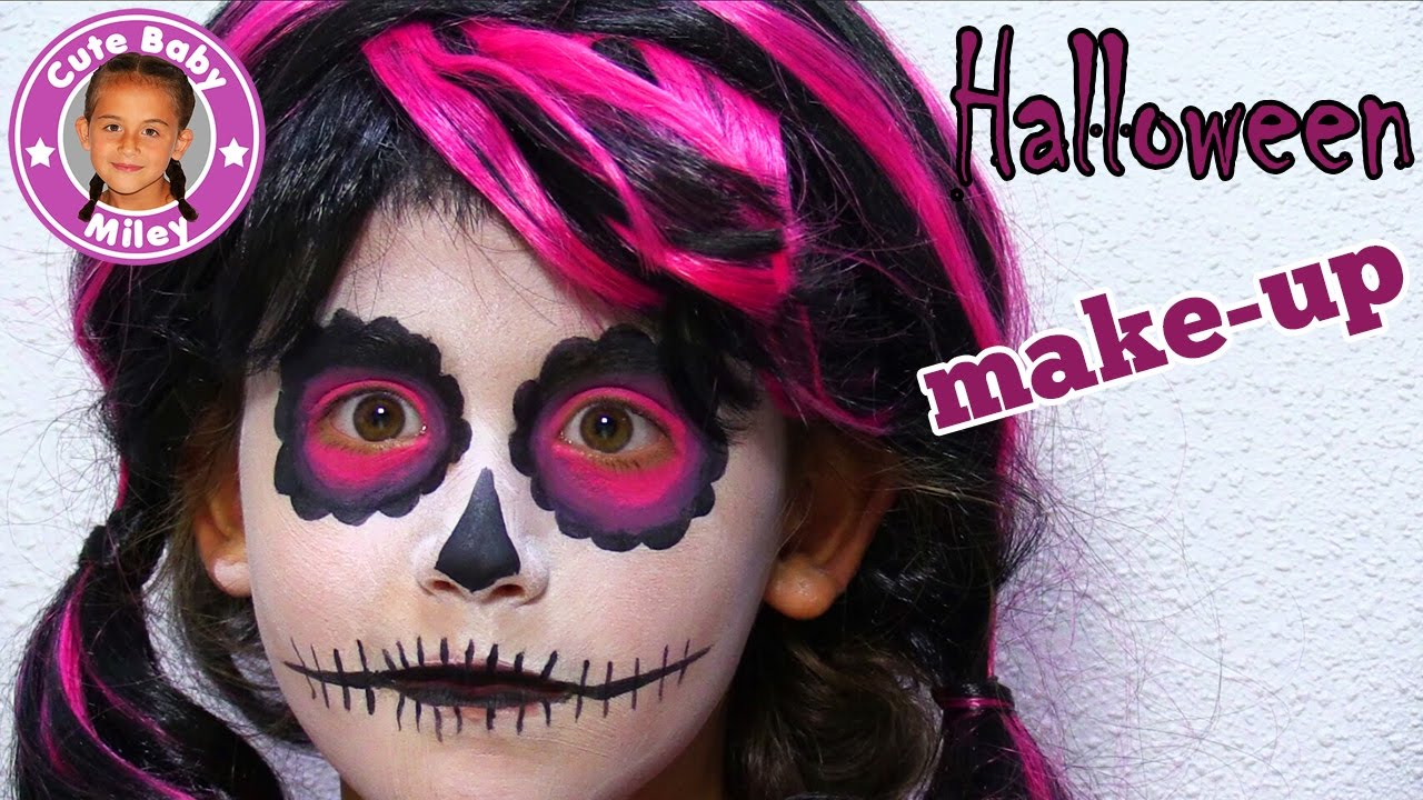 Halloween Make Up Kinder