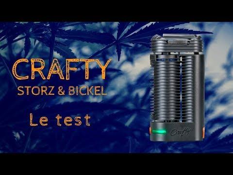 Test & Avis Crafty de Storz and Bickel – Portabilité et Gros Nuages de Vapeur