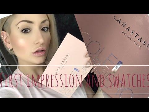 *NEW* Anastasia x Nicole Guerriero Glow Kit First Impression / Swatches & demo | Lorielizabethx thumbnail