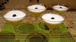 Яблочный коктейль с шампанским   Apple cocktail with champagne