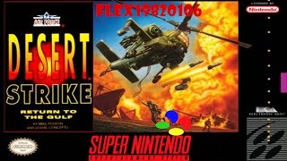 Desert Strike - Return to the Gulf - SNES: Desert Strike - Return to the Gulf(en) longplay [48] - User video