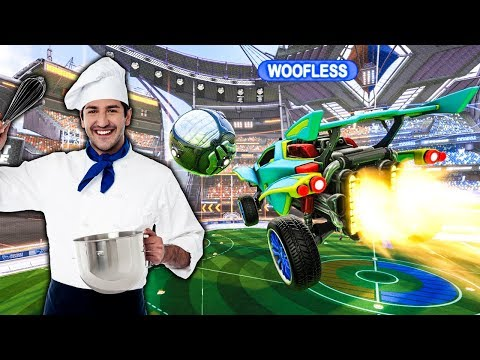 ROB HAS HIS OWN PRIVATE CHEF | ROCKET LEAGUE