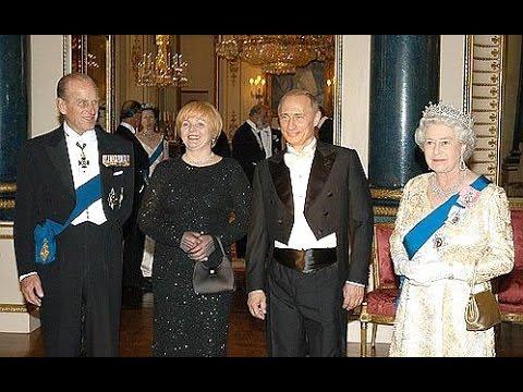 Podobno Władimir Putin widział jak królowa Elżbieta II przemienia się w reptiliankę