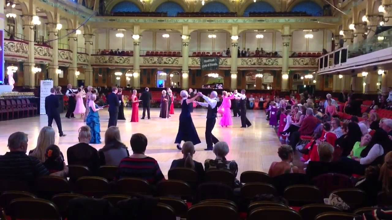 sequence dancing at blackpool winter gardens youtube
