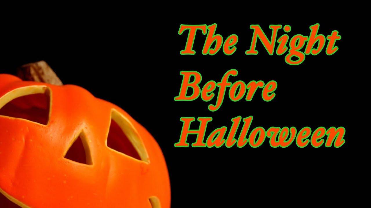 The Night Before Halloween - Nova Halloween Tries to Write a Poem ...