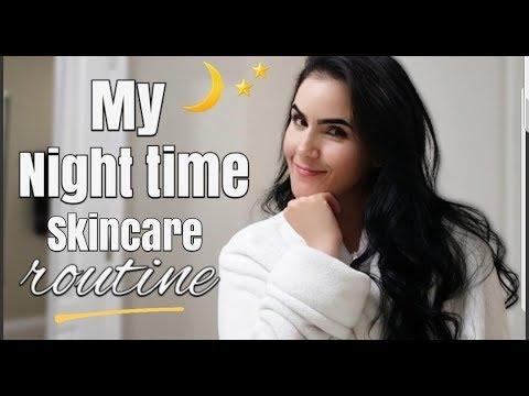 NIGHTTIME SKINCARE ROUTINE | Orchid Vega thumbnail