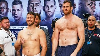 Allen vs Price & O2 FULL UNDERCARD WEIGH-IN | Matchroom Boxing