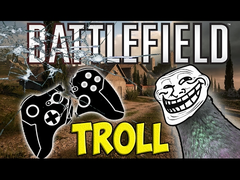 BEST BATTLEFIELD 1 TROLL EVER [ sorry bro  , funny battlefield 1 troll , barrot video  ]
