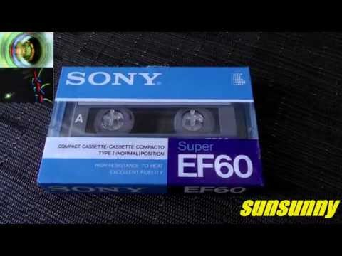 Sony Super EF60 compact cassette