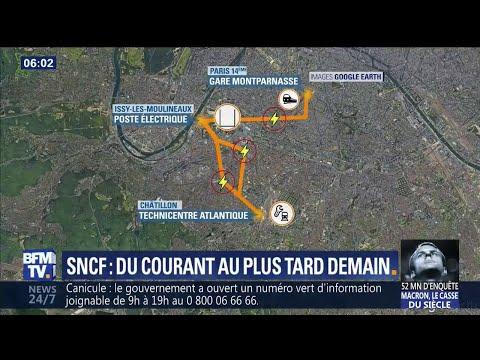Pourquoi le rétablissement du courant à la gare Montparnasse prend du temps
