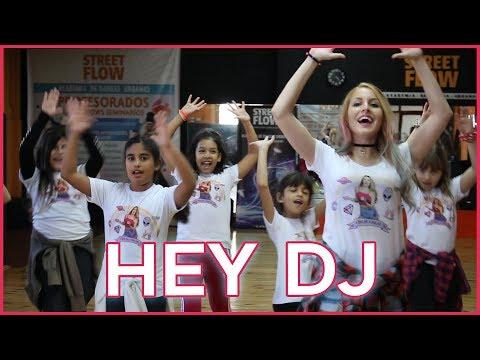 CNCO, Yandel - Hey DJ | Coreografia | A bailar con Maga