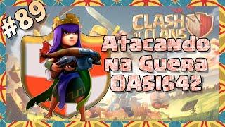 Clash of Clans HD Parte 89 - Centro de Vila 8 (CV8): Atacando na Guerra - OASIS42