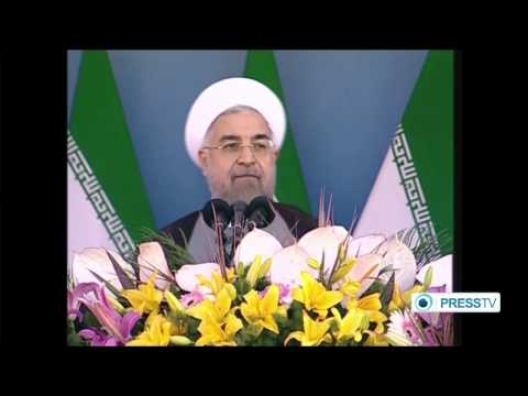 Rouhani Says Iranian Armed Forces Will Help Regional Countries Battle Terrorist Groups