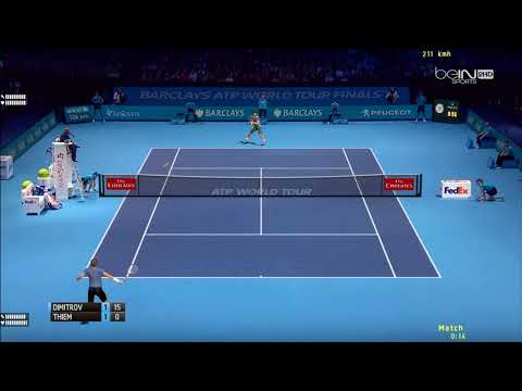 Tennis Elbow 2013 | ATP Worlds Tour Finals 2017 | Groupe Sampras | Thiem vs Dimitrov