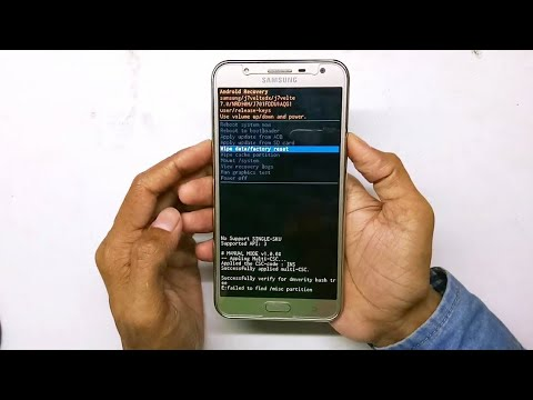 Samsung Galaxy J7 Nxt SM-701FZDD Hard Reset || Pattern Unlock
