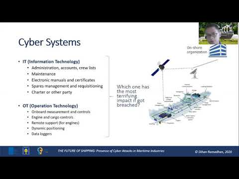 The Future of Shipping: Presence of Cyber Attacks in Maritime Industries