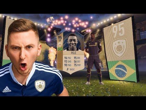 FIFA 18 - PIERWSZY PELE W PACZCE NA ŚWIECIE!