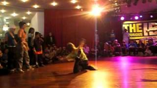 IBE 2009  - BGIRL Battle 4 vs 4  Power Proof Girls Italy vs Amenzulu Queens France