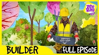 Let's Play: Builder! | FULL EPISODE | ZeeKay Junior