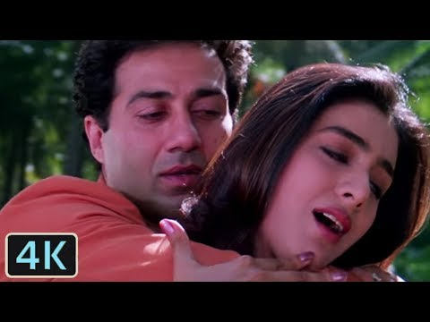 Saathiya Bin Tere Full 4K  Song  90s Bollywood Songs  Sunny Deol, Tabbu  Himmat