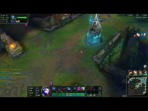 AMAZING League Of Legends Run! - LEGANDARY! (playing league of legends as ashe)