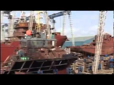 Port development in Gujarat: (CM Narendra Modi)