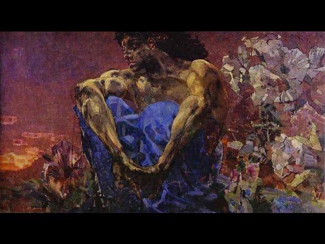 Изображение предпросмотра прочтения – АндрейКарапетян читает отрывок изпроизведения «Демон» М.Ю.Лермонтова