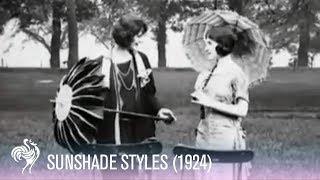 Sunshade Styles (1924)