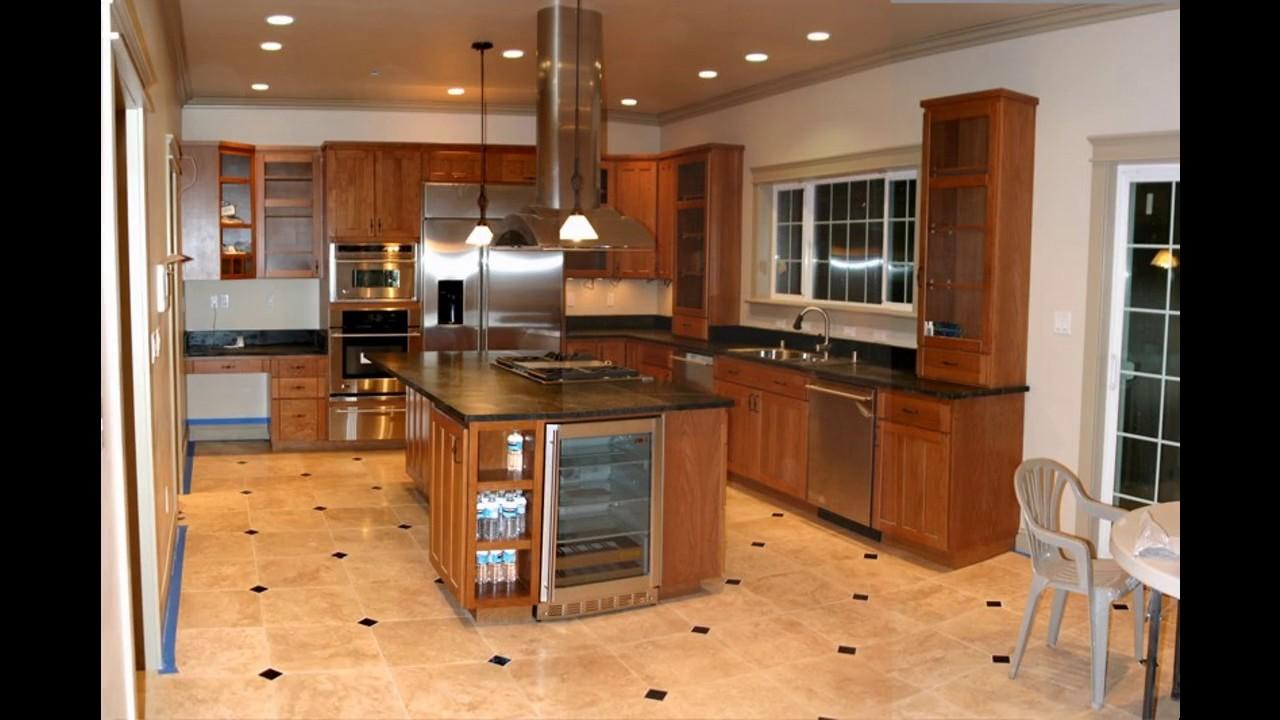 Azulejos ideas de diseño de pisos de cocina - YouTube