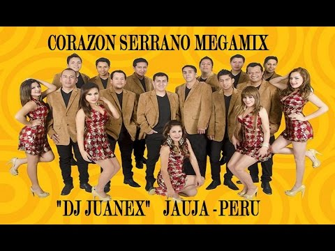 CORAZON SERRANO  MEGAMIX  VERANO   2015  DJ  JUANEX  JAUJA  PERU
