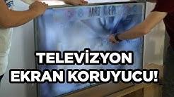 YUMRUK ATTIK KIRAMADIK - Televizyon için ARMOR ekran koruyucu