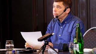 Мастер-класс Майкла Резендеса для номинантов премии «Открытой России» «Профессия — журналист»
