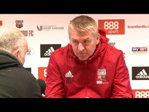 Dean Smith Newcastle United press conference