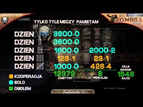 Black Ops 2: Zombie - System rankingowy! Wyjaśnienie! Jak zdobyć wyższą rangę ?